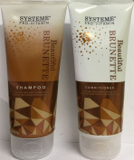 Systeme Beautiful Brunette Shampoo 200ml and Conditioner 200ml