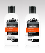 Activated Charcoal Hair Care Set Optima Purifying Shampoo 265ml Tube and Purifying Conditioner 265ml Tube