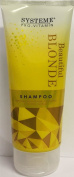 SIX PACKS of Systeme Beautiful Blonde Shampoo 200ml