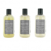 Natural Shampoo 250ml X3. Handcrafted, Made in France. Choice Shampoo In Description.