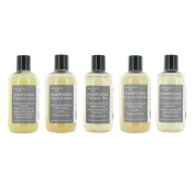 5x Natural Shampoo 250 ml. Botanical Extracts and Essential Oils. Made in France. Choice in description.