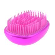 Domybest Hair Washing Shampoo Brush Comb Silicone Scalp Massage Shower Hairbrush