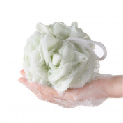 Hygienic PE Soft Bath Ball Rich Bubbles Bath Sponge Brush For Bathroom Shower