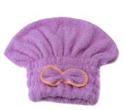 LJSLYJ Quick Dry Bath Hair Drying Towel Head Wrap Hat Makeup cosmetics Cap