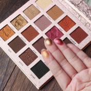 Oyedens 16 Colours Makeup Matte & Metallic Glitter Shimmer Eye Shadow Pigment Cosmetic Eyeshadow Palette