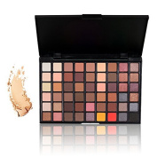 Eyeshadow Makeup Palette, TOFAR 54 Colours Cosmetic Shimmer Matte Smokey Eye Effect Neutral Nude Professional Waterproof Eye Shadow Pigmented Beauty Kit Set Make Up Contour Eye Shadow Palette - #1