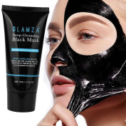 Blackhead Removal Facail Mask,Black Face Masks Bamboo Charcoal Deep Cleansing Peel-off Mask VNEIRW