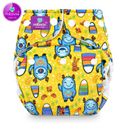 Size Milovia (Prefold) – Pale Yeti Nappy Pants, Fabric Nappies, Hose, Best Quality Soft Outer
