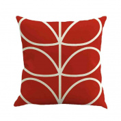 TIREOW Fashion Geometry Painting Linen Cushion Cover Throw Pillow Case Sofa Home Decor