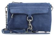 Rebecca Minkoff Mini M.A.C. Shoulder Bag navy