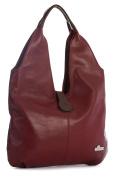 LiaTalia Genuine Italian Soft Leather Large Hobo Shopper Shoulder bag with Protective Dust Bag - Zoe