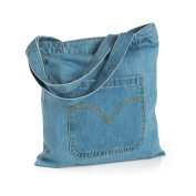 DENIM TOTE BAG AB31785