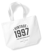 21st Birthday, 1997 Keepsake, Funny Gift, Gifts For Women, Novelty Gift, Ladies Gifts, Female Birthday Gift, Looking Good Gift, Ladies, Shopping Bag, Present, Tote Bag, Gift Idea