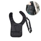 Mens Anti-Theft Shoulder Bag Portable Hidden Underarm Phone Purse Keys Tool Bag