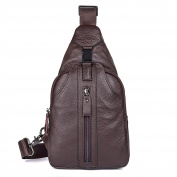 kinokoo Genuine Leather Sport Bag Fashionable Crossbody Bag