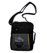 AS Roma Men's Shoulder Bag Black black