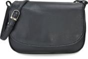 ARA Bags Women's Shoulder Bags Crossover Bags Saddle Bags Blue, Dark Blue, Navy 23x15x6 cm
