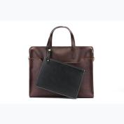 Shoulder Bag Fashion Men's Briefcase Leather Business Travel Laptop Bag Messenger Crossbody Bags