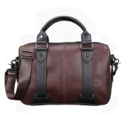 Fashion Men's Briefcase Leather Business Travel Laptop Bag Messenger Shoulder Bag Crossbody Bags