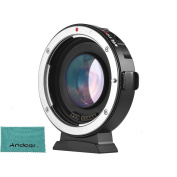 Viltrox EF-M2 Auto Focus Lens Mount Adapter 0.71X for Canon EOS (EF) Lens to Micro Four Thirds (MTF, M4/3) Camera