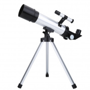 Astronomical Telescope, Refractor Tabletop Travel Scope for Kids Sky Star Gazing And Birds Watching