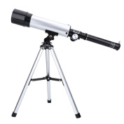 90X Telescope Refractor, Astronomical Telescope with Tripod for Kid Beginners