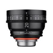 """'Xeen Cinema """"20/1.9 Lens MFT Full Size – Black"""