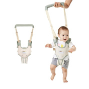 Baby Walking Harness Toddler Safety Reins Anti Lost Belt With Adjustable Strap , Green