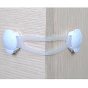 Bazaar 4Pcs Baby Kids Child Toddler Safety Locks Protector for Fridge Drawer Door Cabinet Cupboard