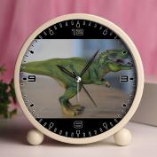 Alarm Clock, Bedroom Tabletop Retro Portable Clocks with Nightlight Custom designs Dinosaurs 131_Dino, Dinosaur, Tyrannosaurus Rex, Replica, Toys
