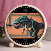 Alarm Clock, Bedroom Tabletop Retro Portable Clocks with Nightlight Custom designs Dinosaurs 726_Toys, Kids Toys, Tyrannosaurus, Dinosaur, T-rex