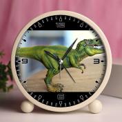 Alarm Clock, Bedroom Tabletop Retro Portable Clocks with Nightlight Custom designs Dinosaurs 42_toy, dinosaur model