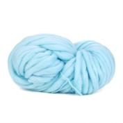 LCLrute DIY Super Soft Bulky Arm Knitting Wool Roving Crocheting Wool Yarn