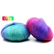Woopower 50g/Roll 180m Sock Wool Yarn Hand knitting Yarn School Yarn for Hand Knitting Crochet Throw Yarn