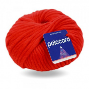 Chunky Peru Prae 200g – Wool Knitting Yarn – Red