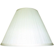 Ivory Long-Lasting Durability, Softpleat Table Shade, White