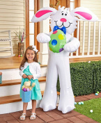 The Lakeside Collection Inflatable Easter Bunny
