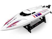 VOLTZ UDI003 High Speed Remote Control RC Boat (12MPH) – BONUS BATTERY INCLUDED