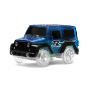 Forsea 1 Piece LED Lighting Up Toy Car for Kids