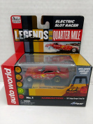 Auto World SC285 Legends of the Quarter Mile Rambunctious 1971 Dodge Charger Funny Car HO Scale Electric Slot Car