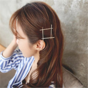 BIGBOBA 1PCS Elegant Golden Simple Hair Clip Claw Clamps Hairhand Jewellery Hair Styling Accessories Hair Decoration