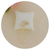 THK-Wedding Bridal Hairpiece Bridal Hair accessory Pearl Wedding Hair Vine Flower Leaf Headband Bridesmaids Hair Bridal Hair Clip Comb