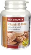 Vitamin E 400iu | 240 Capsules | Promotes Healthy Skin & Heart . Manufactured in the UK