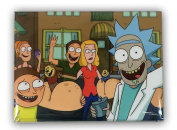 Rick Taking Selfie With Family - Rick and Morty Magnet
