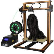 Uniqstore 3D Official CR-10S DIY 3D Printer Kit 300×300×400mm Printing Size With Dual z Rod lead Motor Filament Detector/Sensor