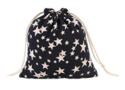 iTemer Cotton Drawstring Gift Bag Small Storage Pocket Jewellery Pouch Candy Bag