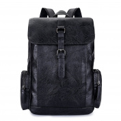 PU Backpack Computer Bag USB Charging Business Casual Bags