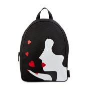 Lulu Guinness Women's Backpack Backpack Handbag Black