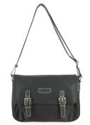 Hexagona Women's Cross-Body Bag Black black