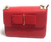 Valentino by Mario Valentino Womens Randa Cross-Body Bag Red
